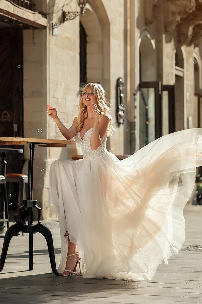 Весільні сукні Barb Аксесуари  З болеро  Без болеро - Фото 4