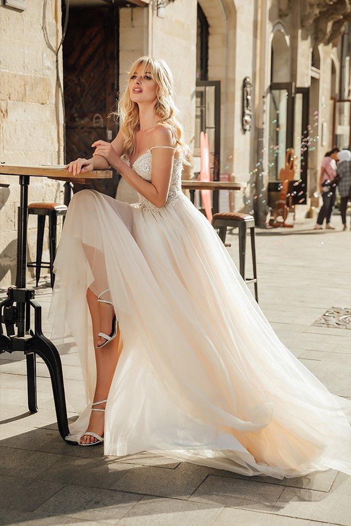 Свадебные платья Barb Аксесуари  З болеро  Без болеро - Фото 3