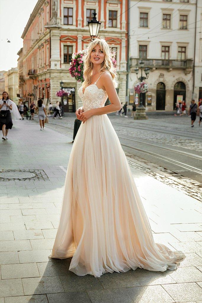 Свадебные платья Barb Аксесуари  З болеро  Без болеро